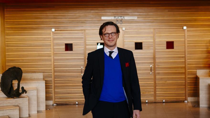 Tilman Kuttenkeuler, director general de la Fundación Auditorio y Teatro de Las Palmas de Gran Canaria