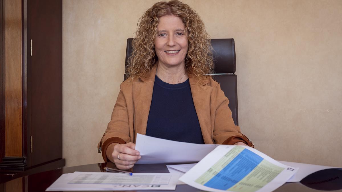 Raquel Díaz, consejera  de Promoción Económica del Cabildo de La Palma.