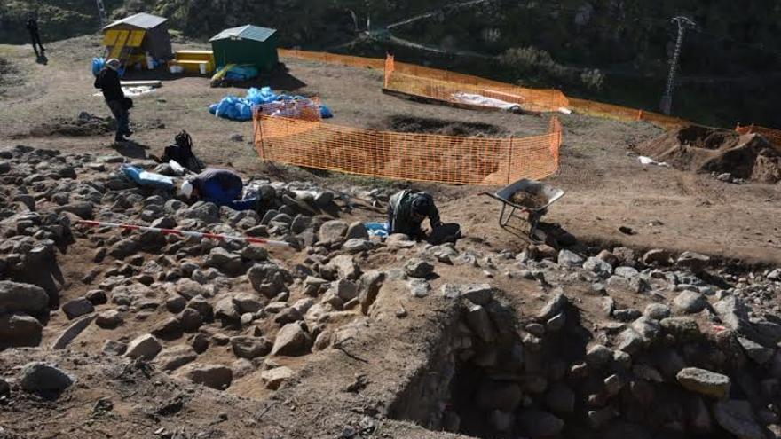 Excavaciones Cerro del Bú, Toledo