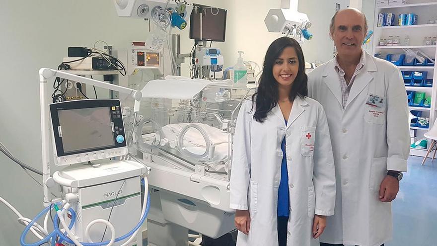 Profesionales del Hospital Cruz Roja de Córdoba.