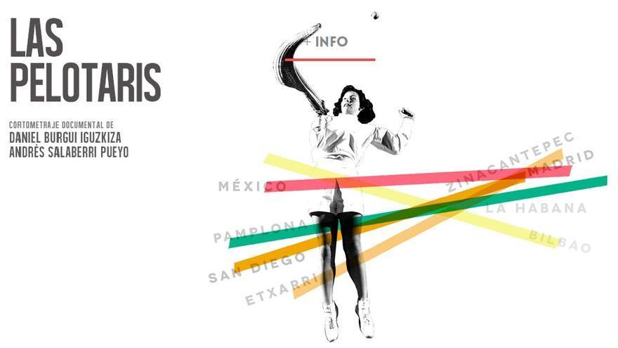 El proyecto de Burgui y Salaberri ya cuenta con página web, 'www.laspelotaris.com'.