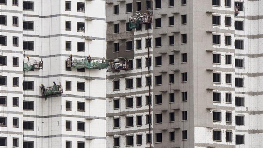 El precio de la vivienda sube en noviembre en un 47 % de las ciudades chinas
