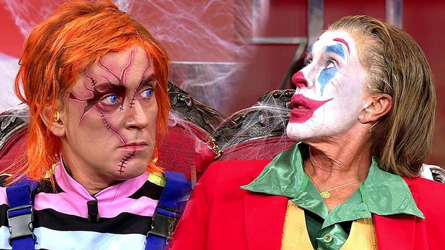 De Chelo 'Joker' a Kiko 'Chucky' para asustar (más aún) en 'Salvame'
