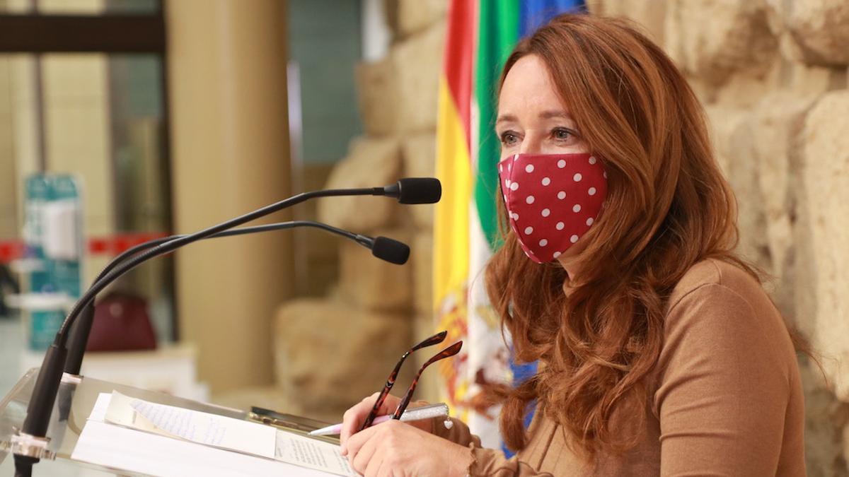 La concejala de Cultura, Marián Aguilar