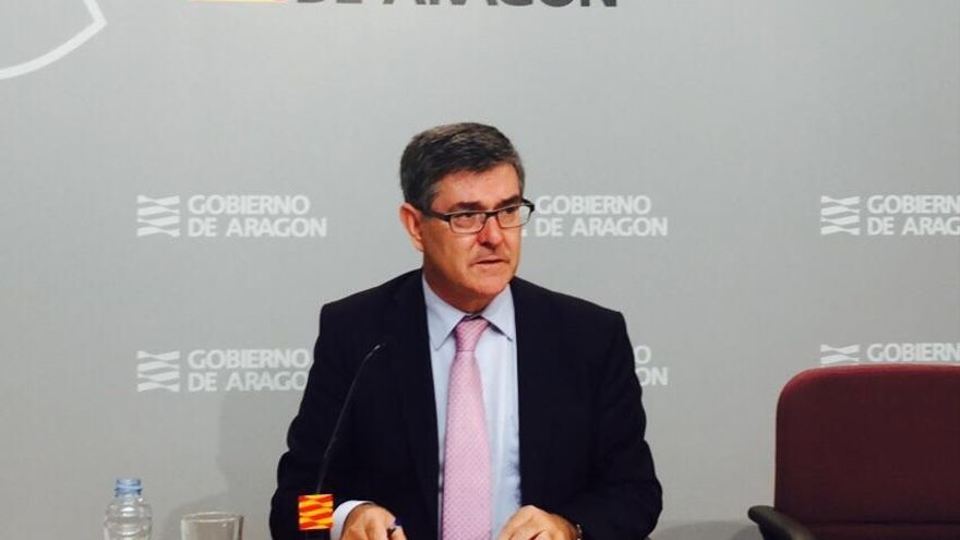 El consejero de Presidencia, Vicente Guillén. Foto: Gobierno de Aragón.