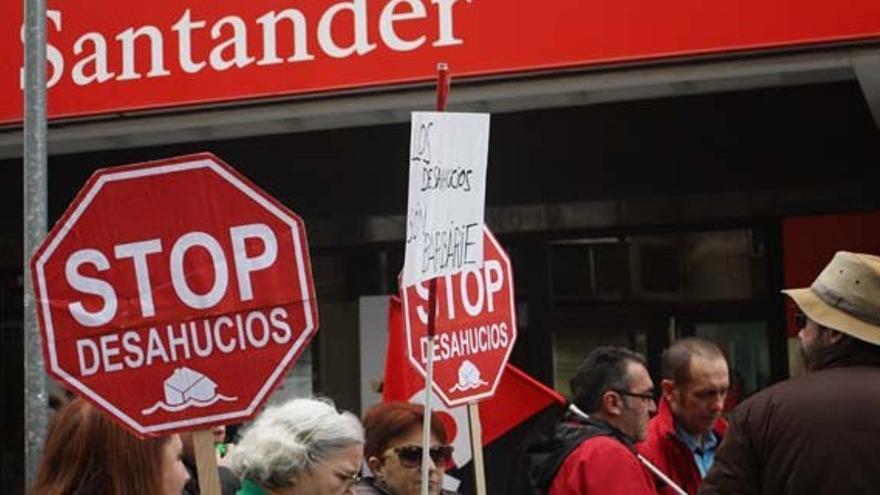 Manifestación de la PAH en Ciudad Real