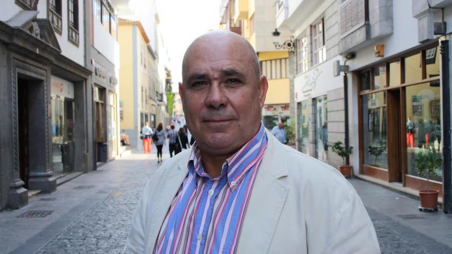 Julio Felipe, concejal de Desarrollo Local de Santa Cruz de La Palma.