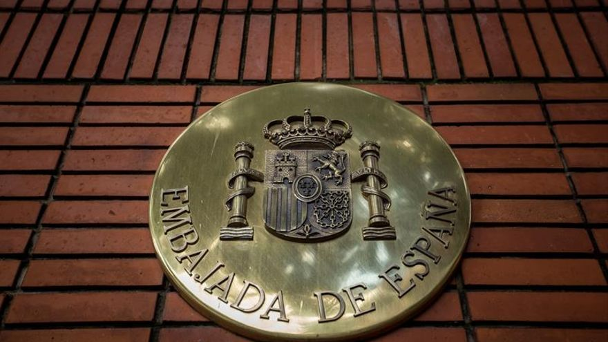 La Embajada de España en Venezuela sufre un ataque leve que no deja daños
