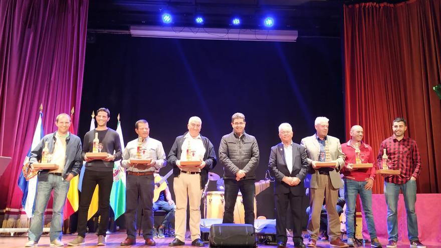 Foto con los premiados en la edición del concurso de 2019