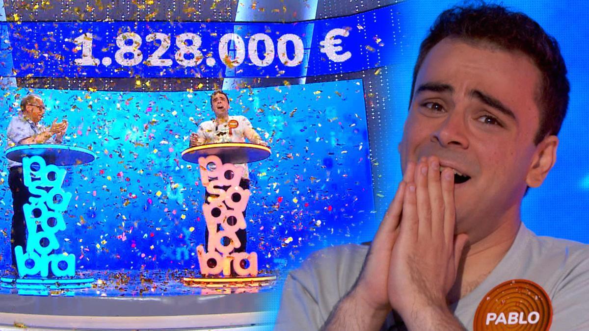 Pablo Díaz gana el bote de 'Pasapalabra'