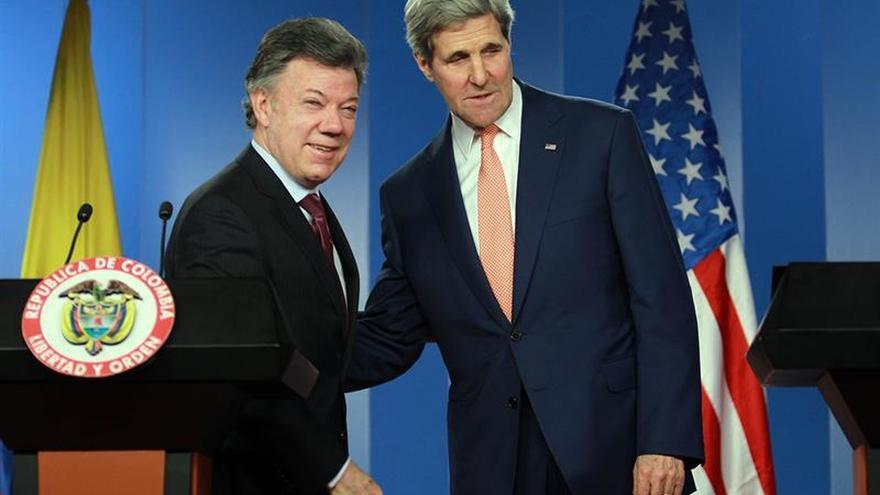 Kerry reitera compromiso de EEUU con Colombia cuando cierre el acuerdo de paz