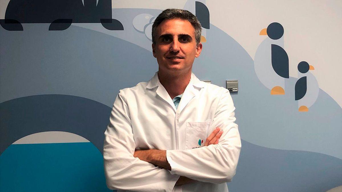 El doctor Rafael González de Caldas, del Hospital Quirón.