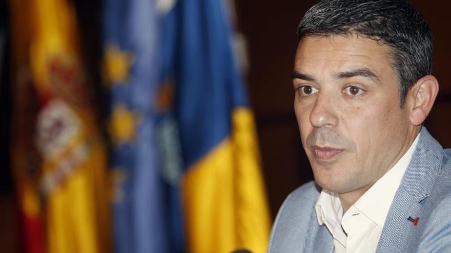El consejero de Agricultura del Gobierno de Canarias, Narvay Quintero. EFE/ Cristóbal García