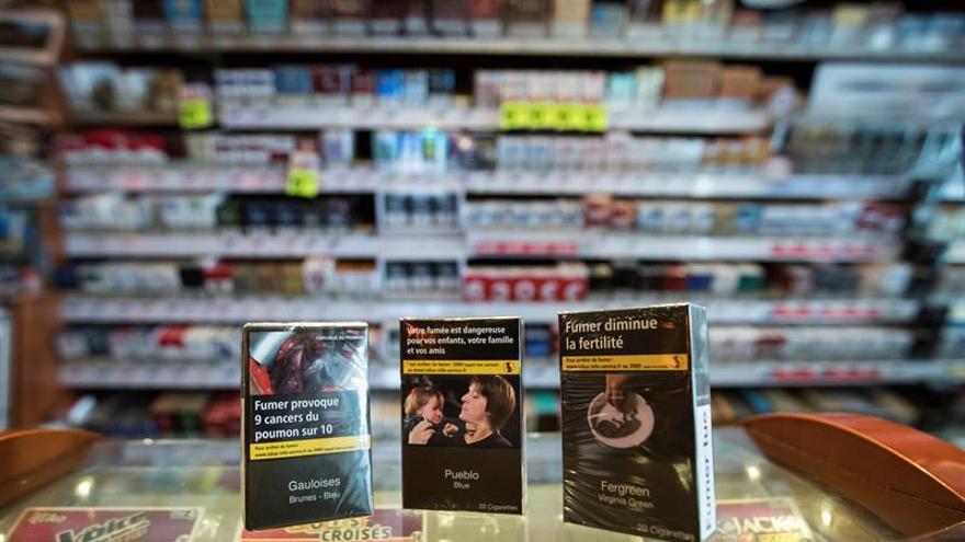 El precio de la cajetilla de tabaco subirá un euro en Francia en marzo