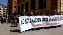 Los agricultores de Teruel exigen que se les defienda en Europa