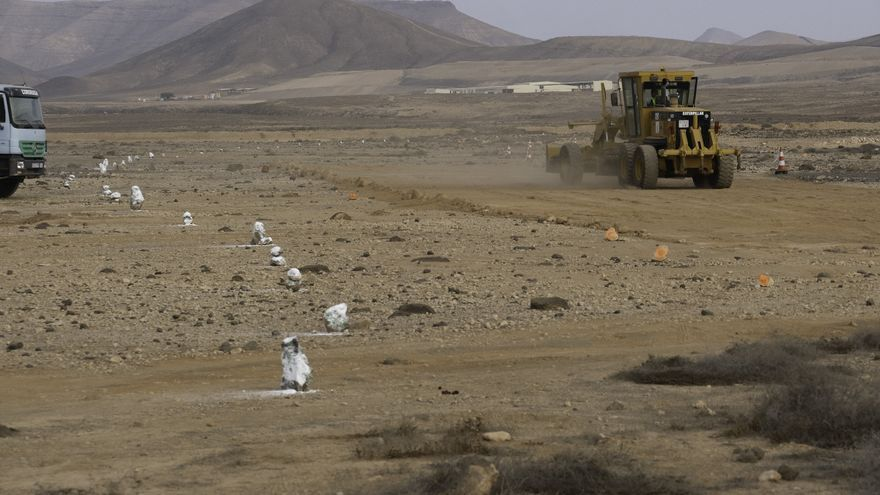 Comienzan las obras de la nueva autovía en Fuerteventura que unirá el aeropuerto con Puerto del Rosario y La Caldereta
