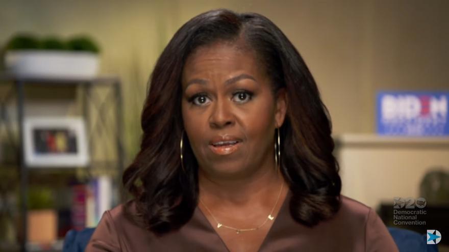 Trump responde a Michelle Obama que sin su marido él no sería presidente