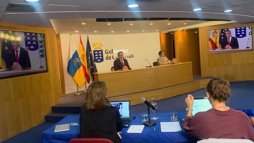 El vicepresidente de Canarias pide una solución política para los conflictos por las modificaciones del REF