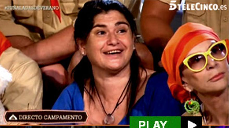 "Lucía Etxebarria acampa en Telecinco para pagar a Hacienda: ""Sé que voy a un programa basura"""