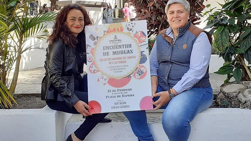 Noelia García y Mónica González.