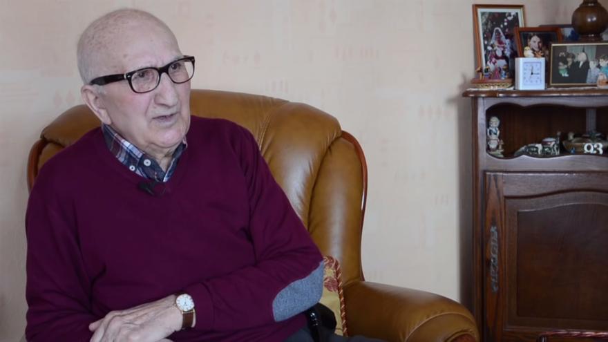 Juan Aznar, último superviviente murciano de Mauthausen