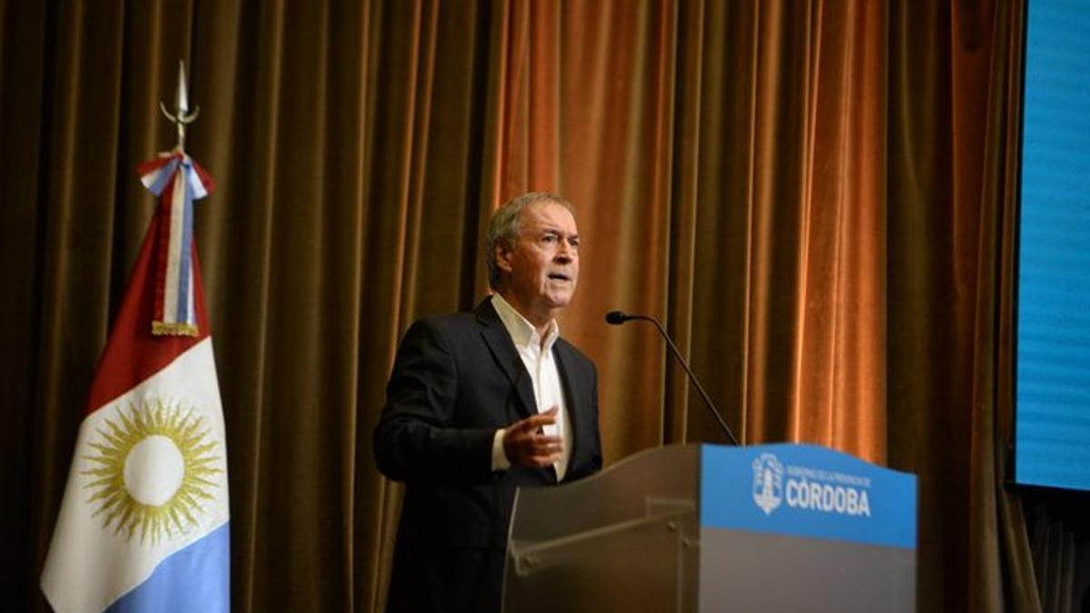 El gobernador de Córdoba Juan Schiaretti anunció la reestructuración de la deuda el 11 de enero de 2021