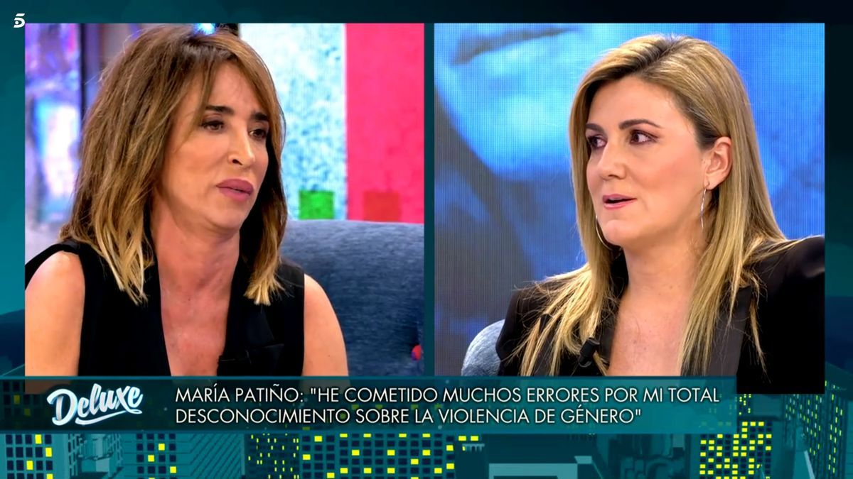 María Patiño y Carlota Corredera en 'Viernes Deluxe'
