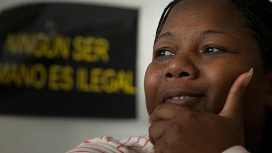 La defensora de derechos humanos, Doris Valenzuela