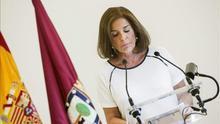 Ana Botella anuncia que no se presentará a las elecciones municipales. EFE