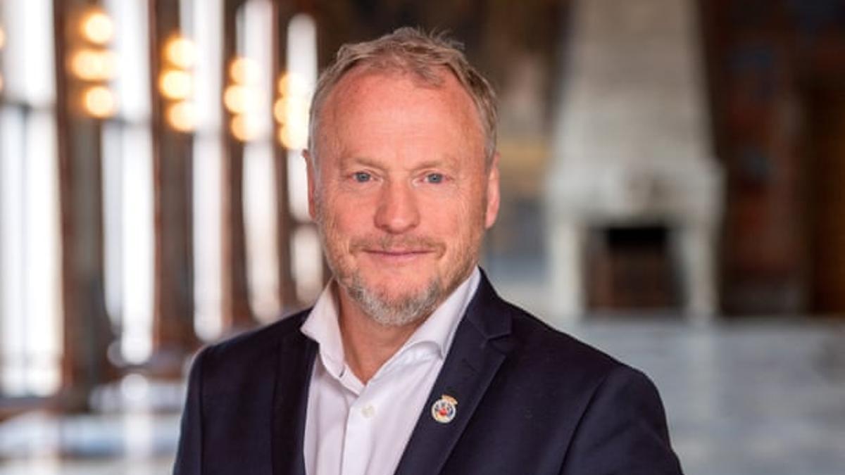 Raymond Johansen, alcalde de Oslo.