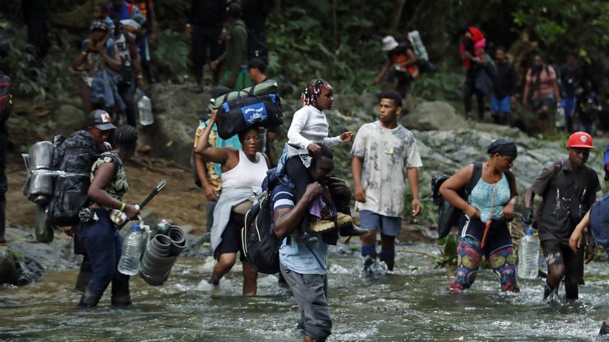 Unicef denuncia un máximo histórico de niños migrantes que cruzan la selva del Darién