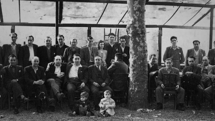 Lezo citó a los guerrilleros asturianos en el puerto de Luanco, donde los recogió en el atunero 'Goizeko izarra' y los llevó lejos de la represión de la época, en 1948