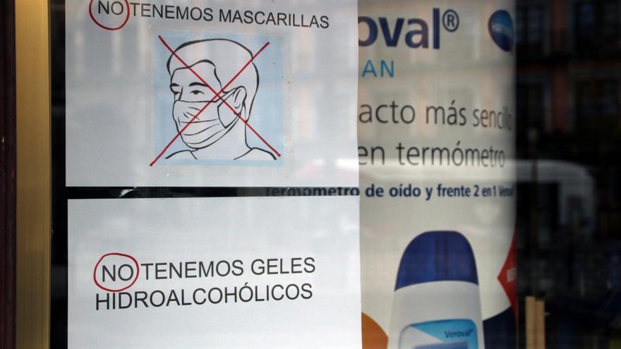 Farmacia en Toledo durante coronavirus