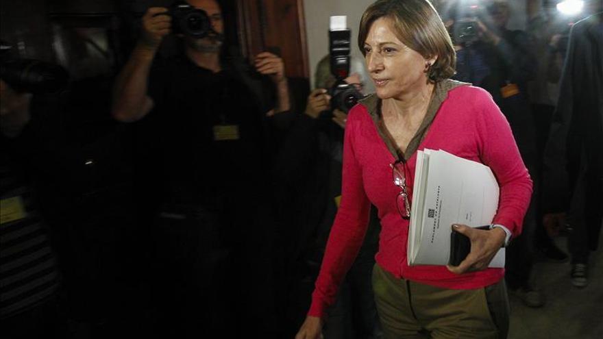 La presidenta del Parlament propone formalmente a Mas como candidato a investidura