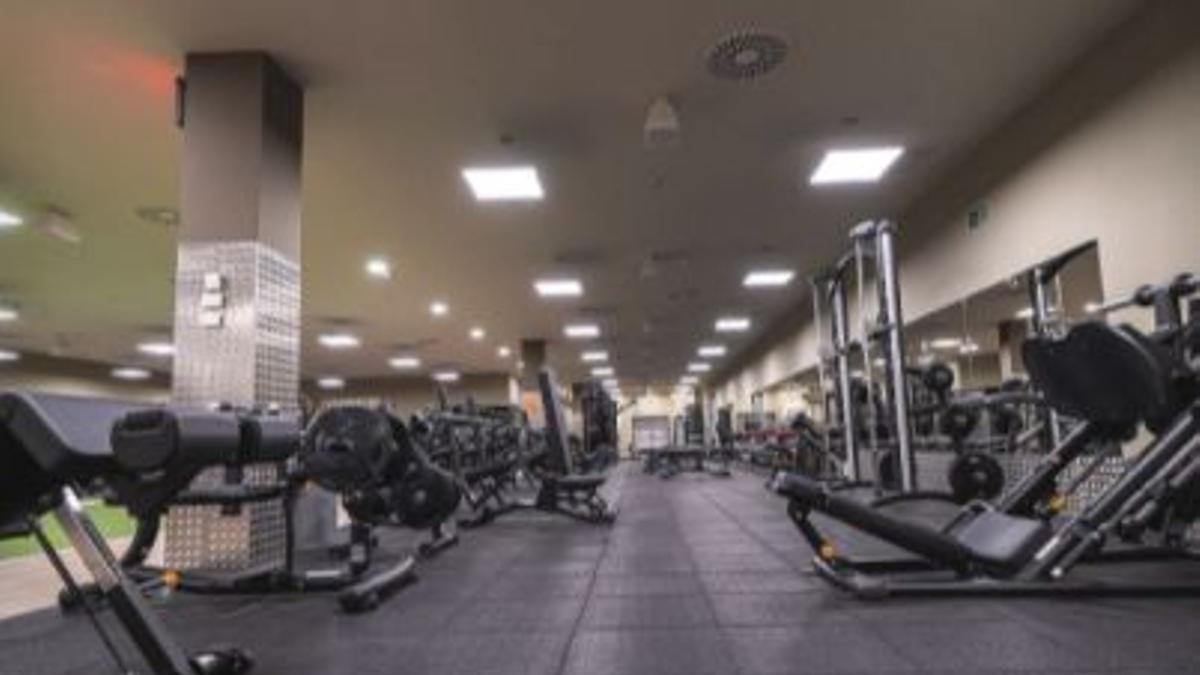 El gimnasio VivaGym, de Bilbondo, Basauri