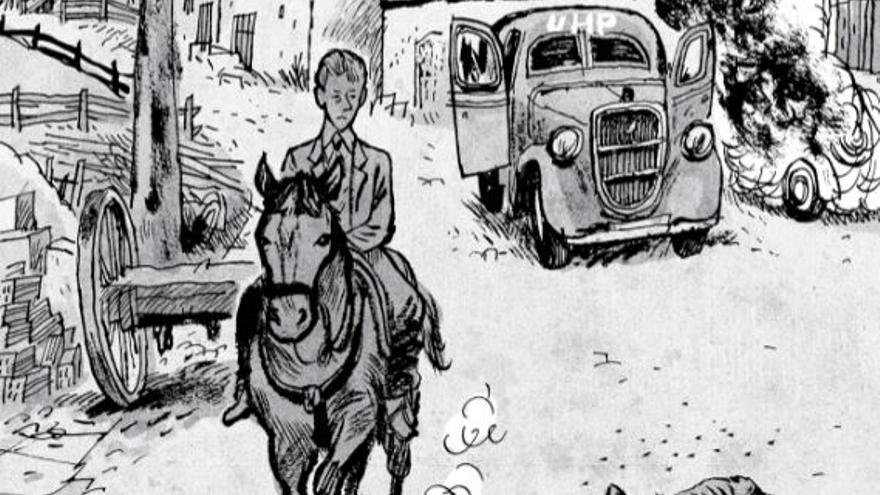 Ilustración de 'La balada del norte: Tomo 3', de Alfonso Zapico. Astiberri.