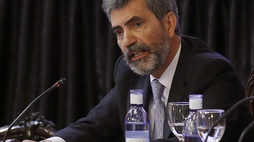 "Lesmes sobre Catalá: ""Ha sido un buen ministro"""