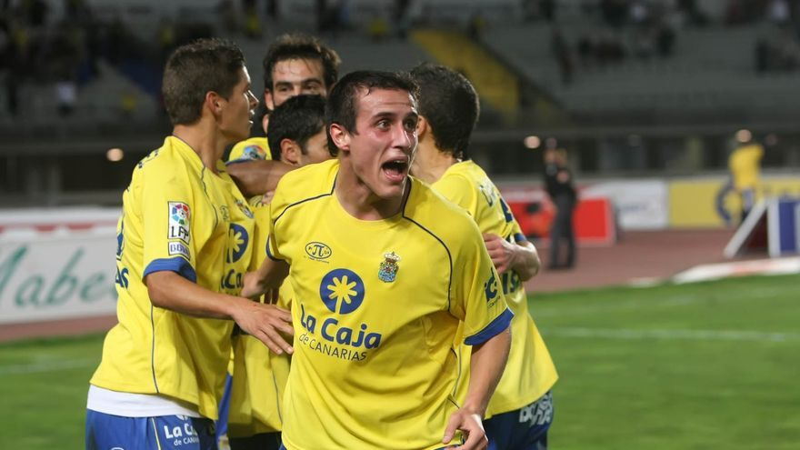 Christian Fernández, en su etapa anterior en la UD Las Palmas / ACFI