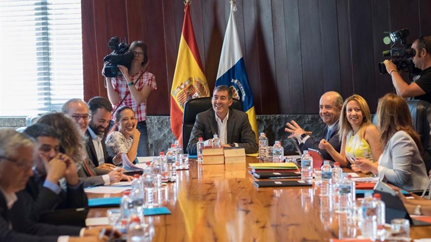 Reunión del Consejo de Gobierno de Canarias. (MANUEL LÉRIDA)