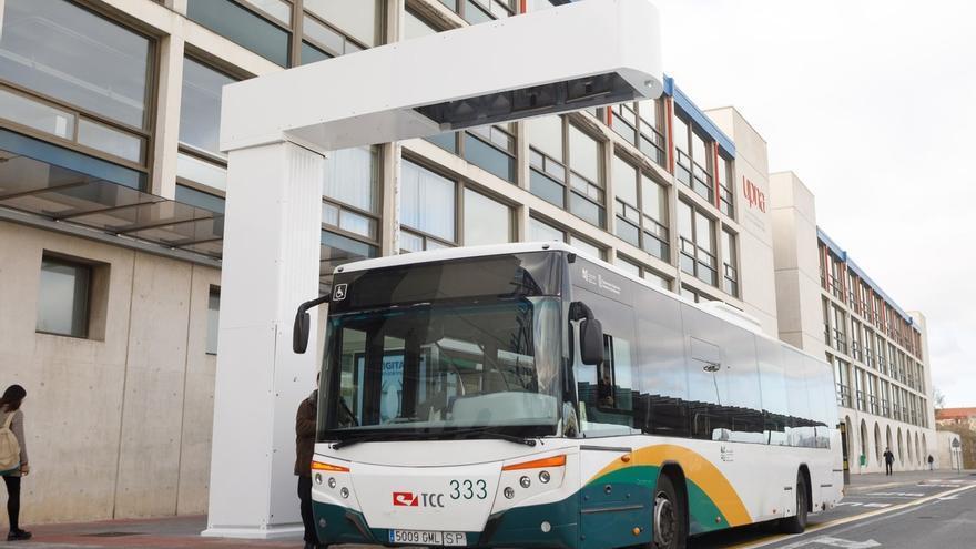 La Semana Europea de la Movilidad recala este jueves en la UPNA con un autobús urbano informativo