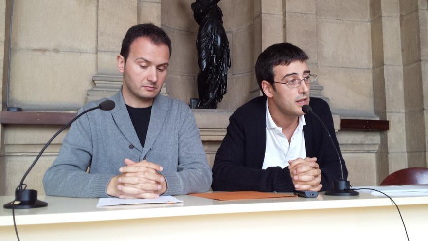 Aitor Brion e Iker Val, miembros de EUSFAC, valoran la ordenanza sobre los Clubes de Cannabis