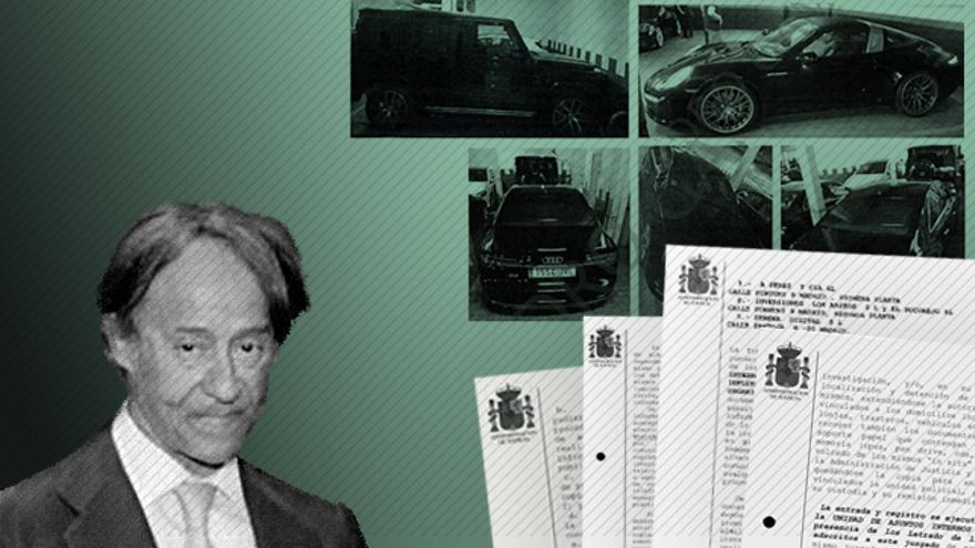 El empresario imputado en el caso Villarejo Adrián de la Joya y Ruiz de Velasco