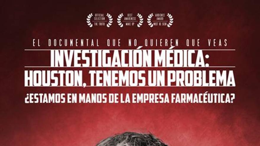 Investigación médica: Houston tenemos un problema, cartel acto Mérida
