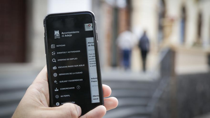 Adeje lanza una aplicación para IOS y Android con información útil sobre el municipio