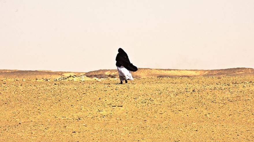 Campamento de refugiados saharuis en Dajla (Sáhara Occidental). / Juan Luis Sánchez.