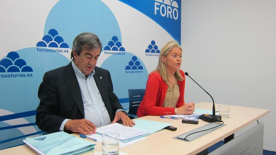 Coto (Foro) asegura que el PP aún no les ha llamado para pedir su apoyo a Mercedes Fernández