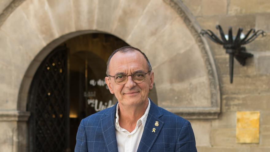 El alcalde de Lleida, Miquel Pueyo.