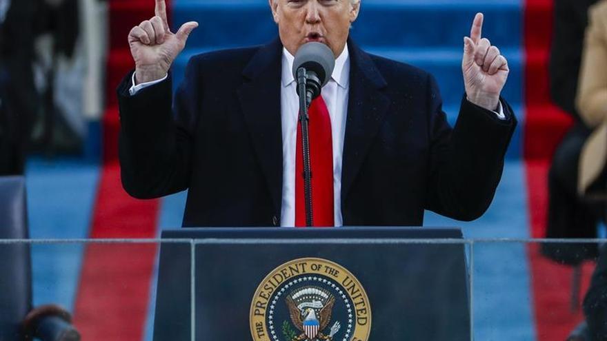 Medios estatales norcoreanos recogen la investidura de Donald Trump