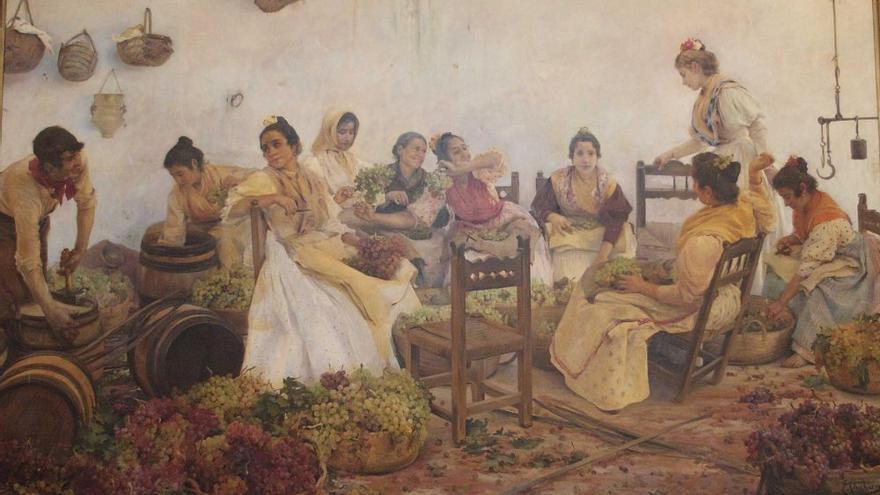 Cuadro de 'Las uveras'