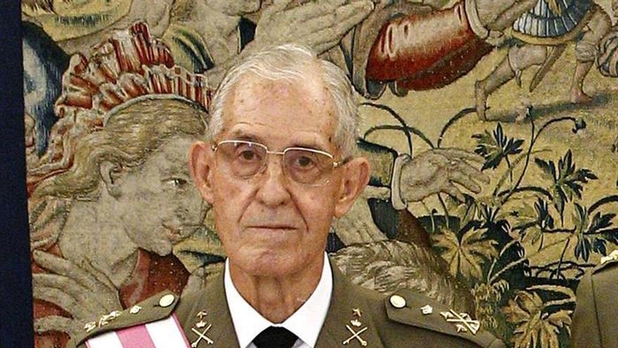 Fallece el general Rodrigo, exjemad y militar con más años de servicio